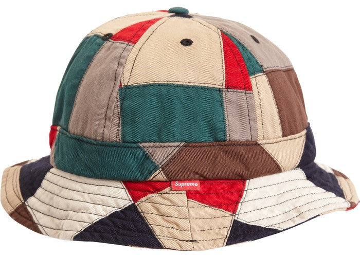 Supreme Patchwork Bell Hat Multi