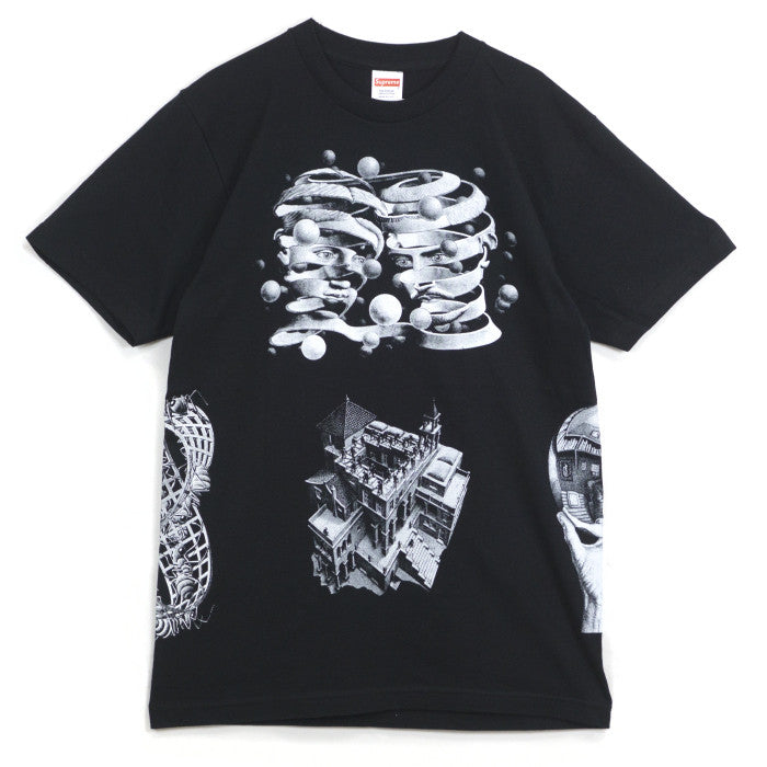 Supreme - M.C. Escher Tee (Black)