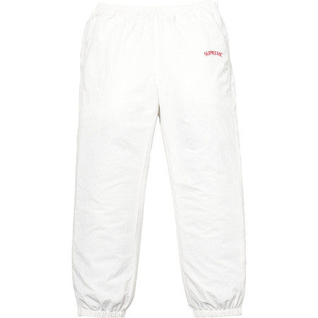 Supreme Arc Track Pants White