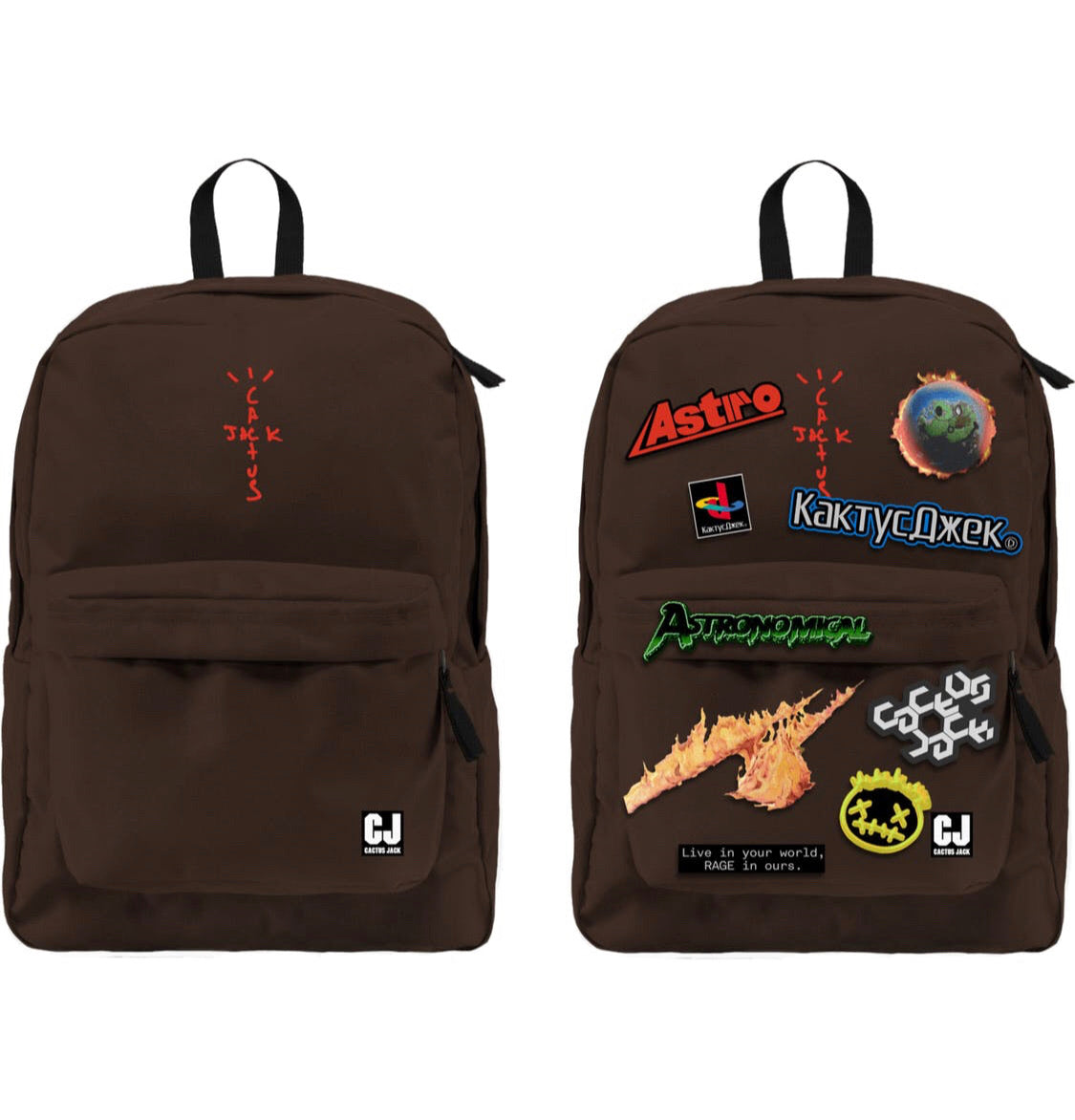 Cactus Jack x Fortnite Backpack w/ Patches