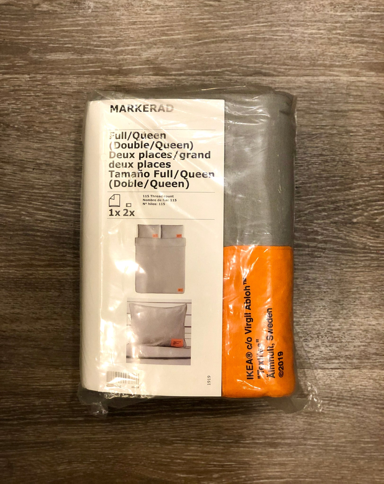 IKEA x Off-White Bed Covers (Queen Size)