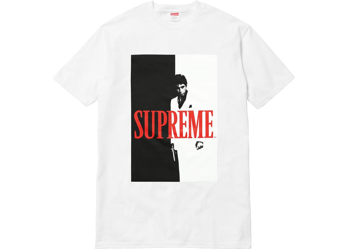 Supreme - Scarface Split Tee