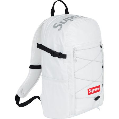 Supreme Backpack White F/W 2017