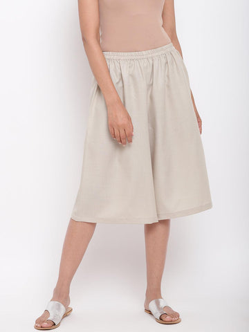 Linen Cotton Grey Pant