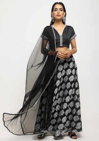 Black Tree Lehenga