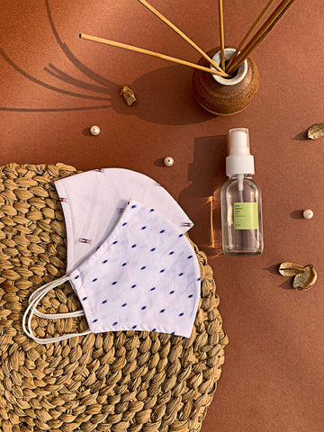 trueEssentials - Hand Sanitizer and Reusable Cotton Masks