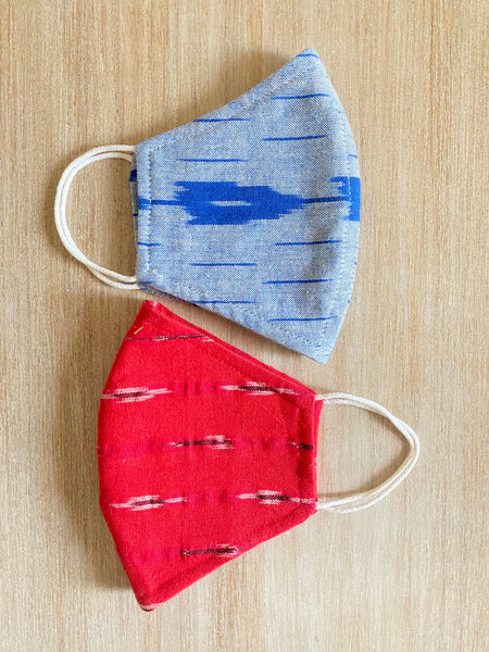 IKAT Reusable Cotton Masks (Pack of 2) TBMM072