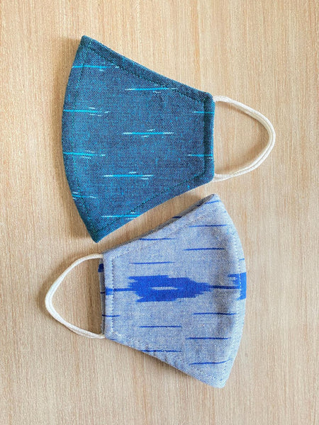 IKAT Reusable Cotton Masks (Pack of 2) TBMM073