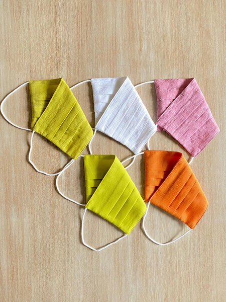 Reusable ORGANIC Cotton Masks (Pack of 5) TBMM075
