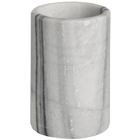 Stylish Grey Marble Marble  Pot - Utensils Holder
