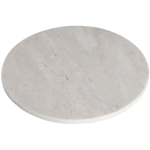 Stylish Grey Round Marble Chopping Board- Natural Home Decoration