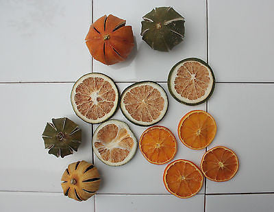Assorted Dried Fruits Lemons Lime and Orange Dried Fruit Pot Pouri  Christmas - Paradise Crow -  Natural Design & Interiors