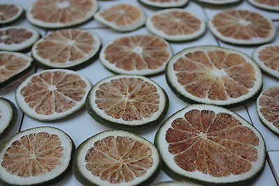 250g  x Dried Green Orange Slices Dried Fruit - PotPouri  Natural Home Decoratio - Paradise Crow -  Natural Design & Interiors