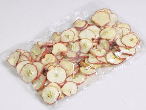 Red Apple Slices - 250g - Christmas Decorations -Dried Fruit - Apple Sliced Potpourri - Paradise Crow -  Natural Design & Interiors