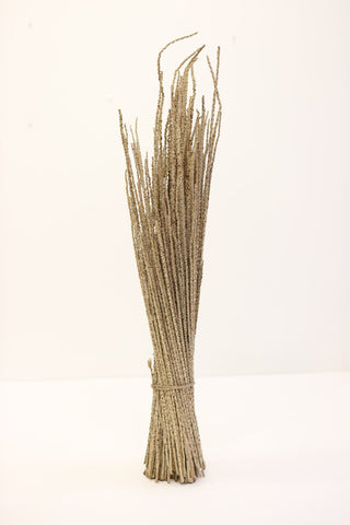 Natural Acai Sheaf -  40-40cm - Naural Flroal Supplies -Dried Flowers - Botanical - Paradise Crow -  Natural Design & Interiors
