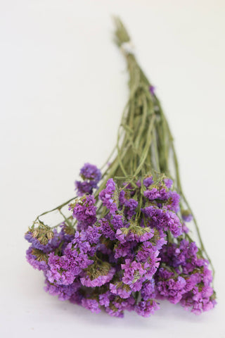 Licac Statice Sinuatar - Dried Flowers - Botany Lilac Flowers Wedding Natural In - Paradise Crow -  Natural Design & Interiors