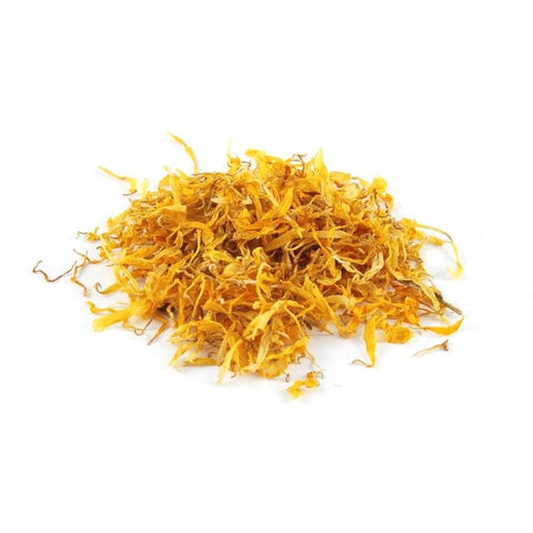 Dried Marigold Petals - Flower Petals - 25g, 50g, 100g- Wedding Decorations- - Paradise Crow -  Natural Design & Interiors