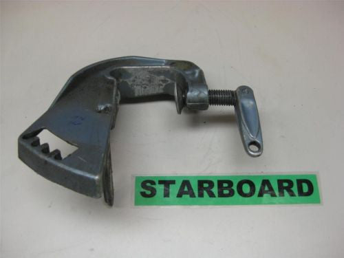 Evinrude Johnson OMC Stern Bracket Transom Clamp Starboard Side 380872