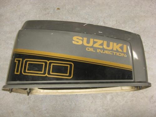 Suzuki Outboard 100 HP V4 Motor Cover Hood Cowl