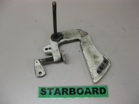 1973 6 HP Chrysler Outboard Starboard Transom Stern Bracket Clamp