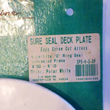 TH Marine Sure Seal Deck Plate 6 Inch ID  DPS-6-2-DP