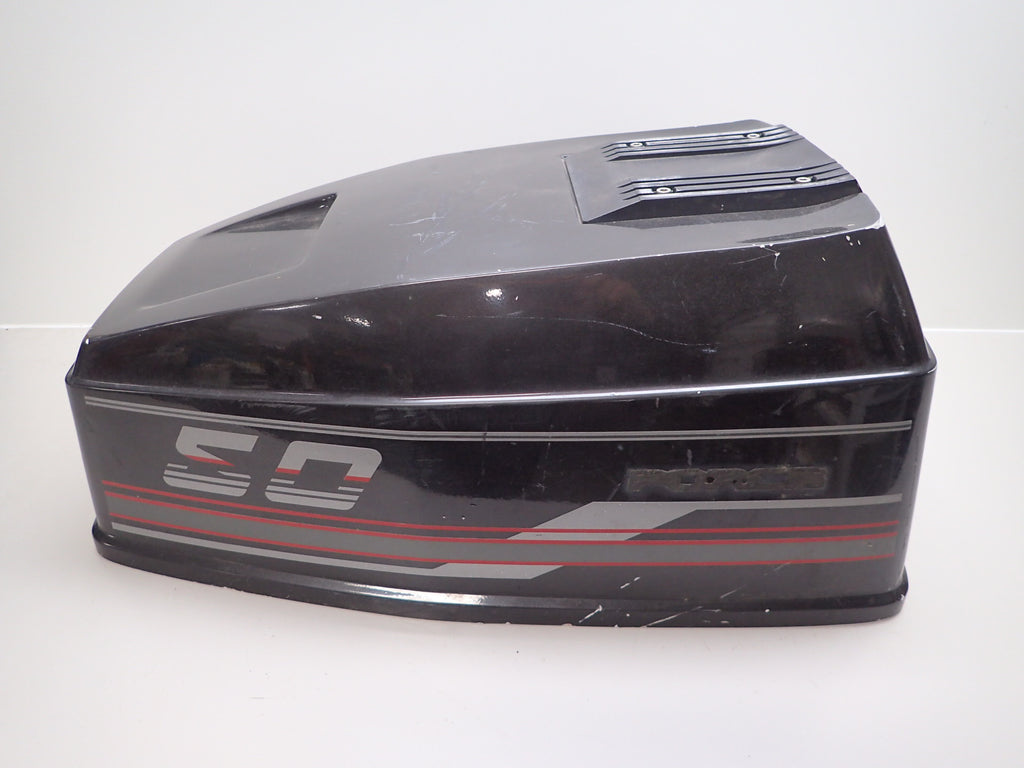 Force Outboard 50 HP Hood Cover Cowling Shroud