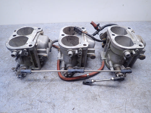 1987-1992 Suzuki DT200 Carb Carburetor Set 13201-88DE4 13202-88DE3 13203-88DE3