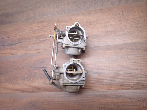 1977-1979 Suzuki DT 50 HP  Carburetor Carb Assembly Pair 13201-95200 13202-95200