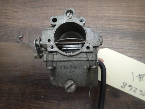 1974-1975 Evinrude Johnson Outboard 70 HP Top Upper Carburetor Carb 386268 #1