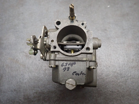 1972 Evinrude Johnson Outboard 65 HP Center Middle Carb Carburetor 385129
