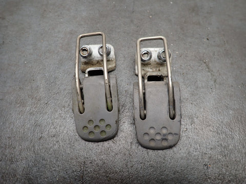 1998 Honda Outboard BF50A 50 HP Hood Cover Latch Set of 2 - 63240-ZV5-000