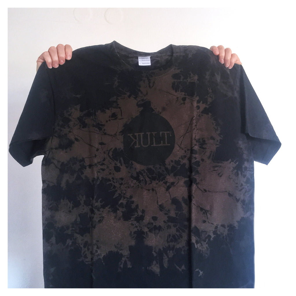 Short Sleeve T-Shirt / Black / Brown - Logo