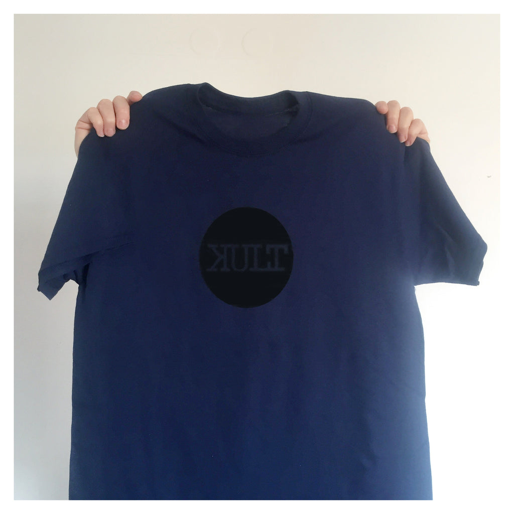 Short Sleeve T-Shirt / Blue - Logo