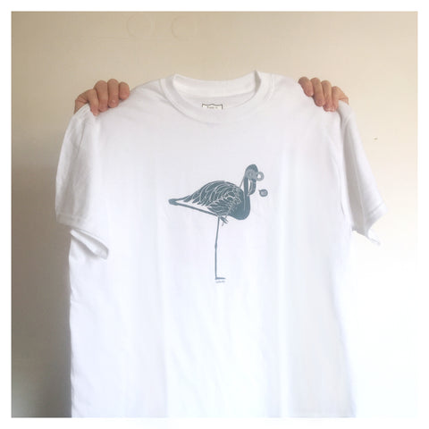 Short Sleeve T-Shirt / White - Design by Soy Panday