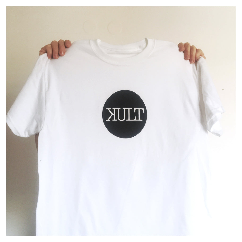 Short Sleeve T-Shirt / White - Logo
