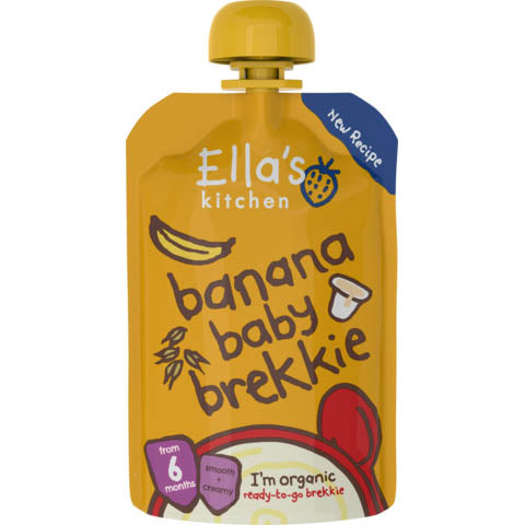 Ella's Kitchen - Baby Brekkie + Banana