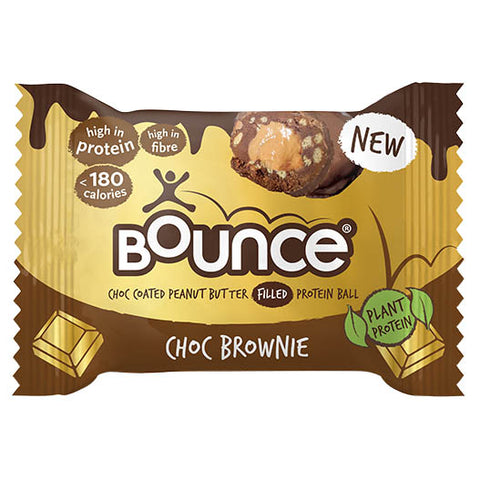 Bounce Choc Coated Peanut Butter Filled Protein Ball - Choc Brownie