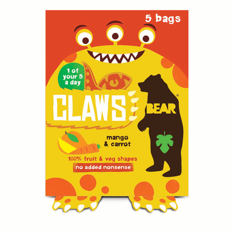BEAR Mango & Carrot Claws