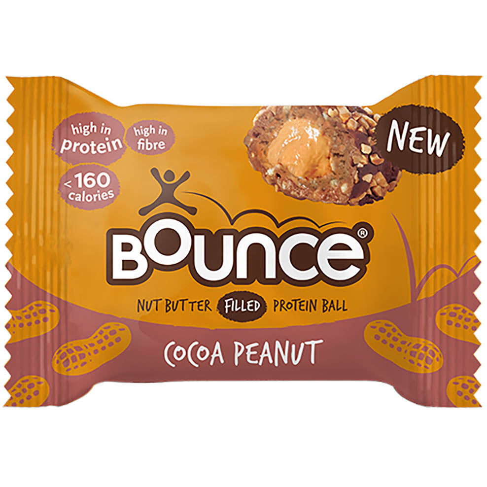 Bounce Nut Butter Filled Protein Ball - Cocoa Peanut
