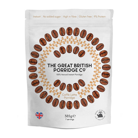 Great British Porridge Co. - Coffé Latte Porridge