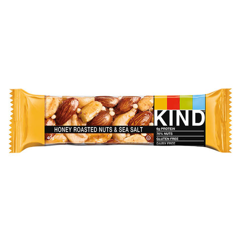 KIND  - Honey roasted nuts & sea salt*