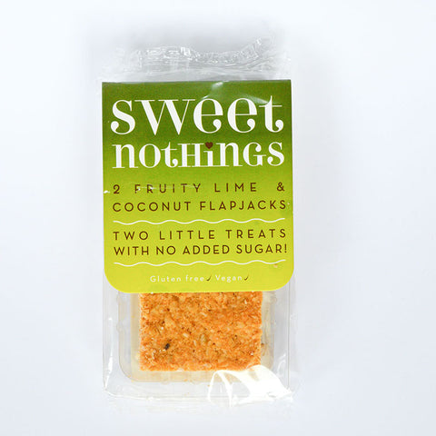 Sweet Nothings Fruity Lime And Coconut flapjack bites