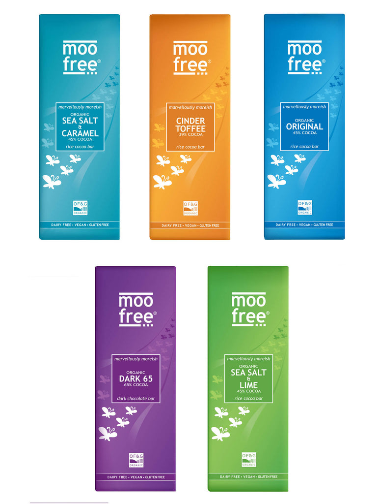 Moo Free Marvellously Moreish Chocolate Selection