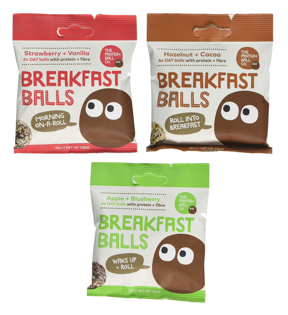 Protein Ball Co. Breakfast Balls Selection