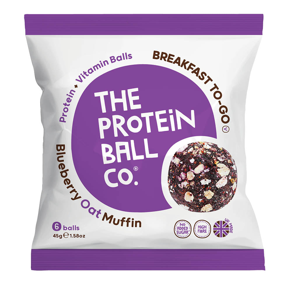 The Protein Ball Co Breakfast Balls - Blueberry Oat Muffin