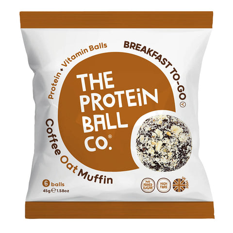 The Protein Ball Co Breakfast Balls - Coffee Oat Muffin