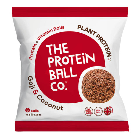 The Protein Ball Co. Protein Balls Goji & Coconut