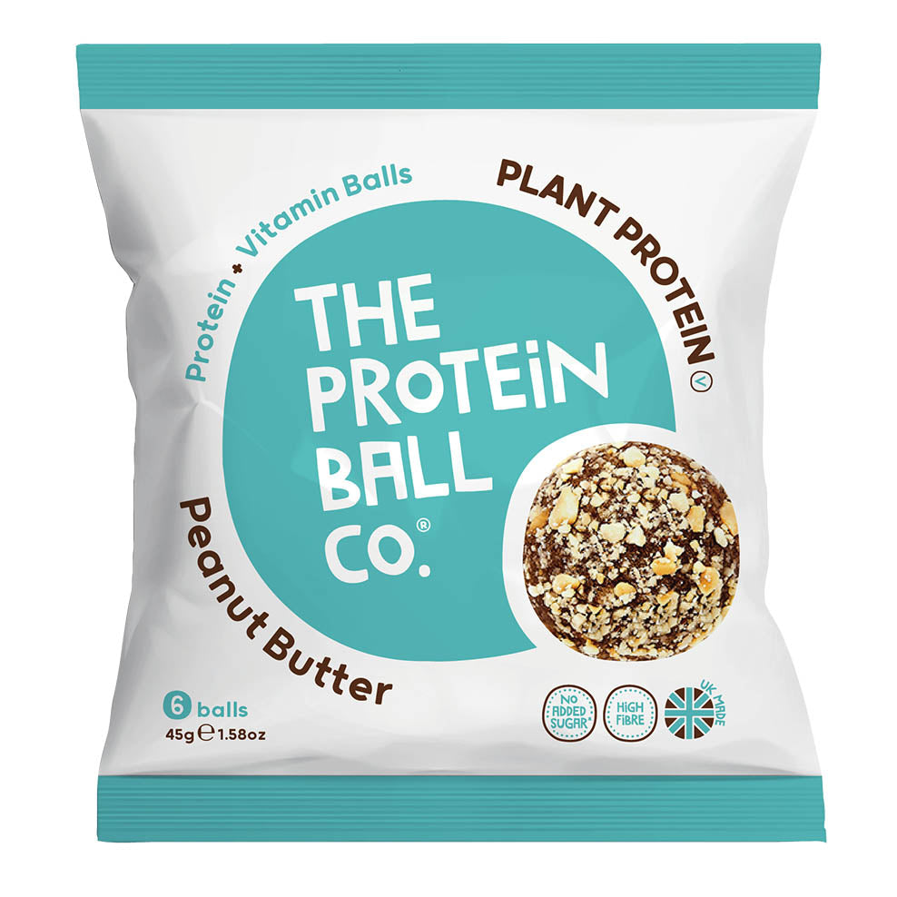The Protein Ball Co. Protein Balls - Vegan Peanut Butter