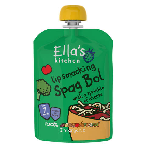 Ella's Kitchen - Stage 2 - Lip Smacking Spag Bol With A Sprinkle Of Cheese