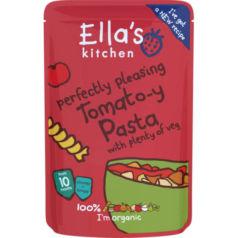 Ella's Kitchen - Stage 3 - Perfectly Pleasing Tomato-y Pasta With Plenty Of Veg